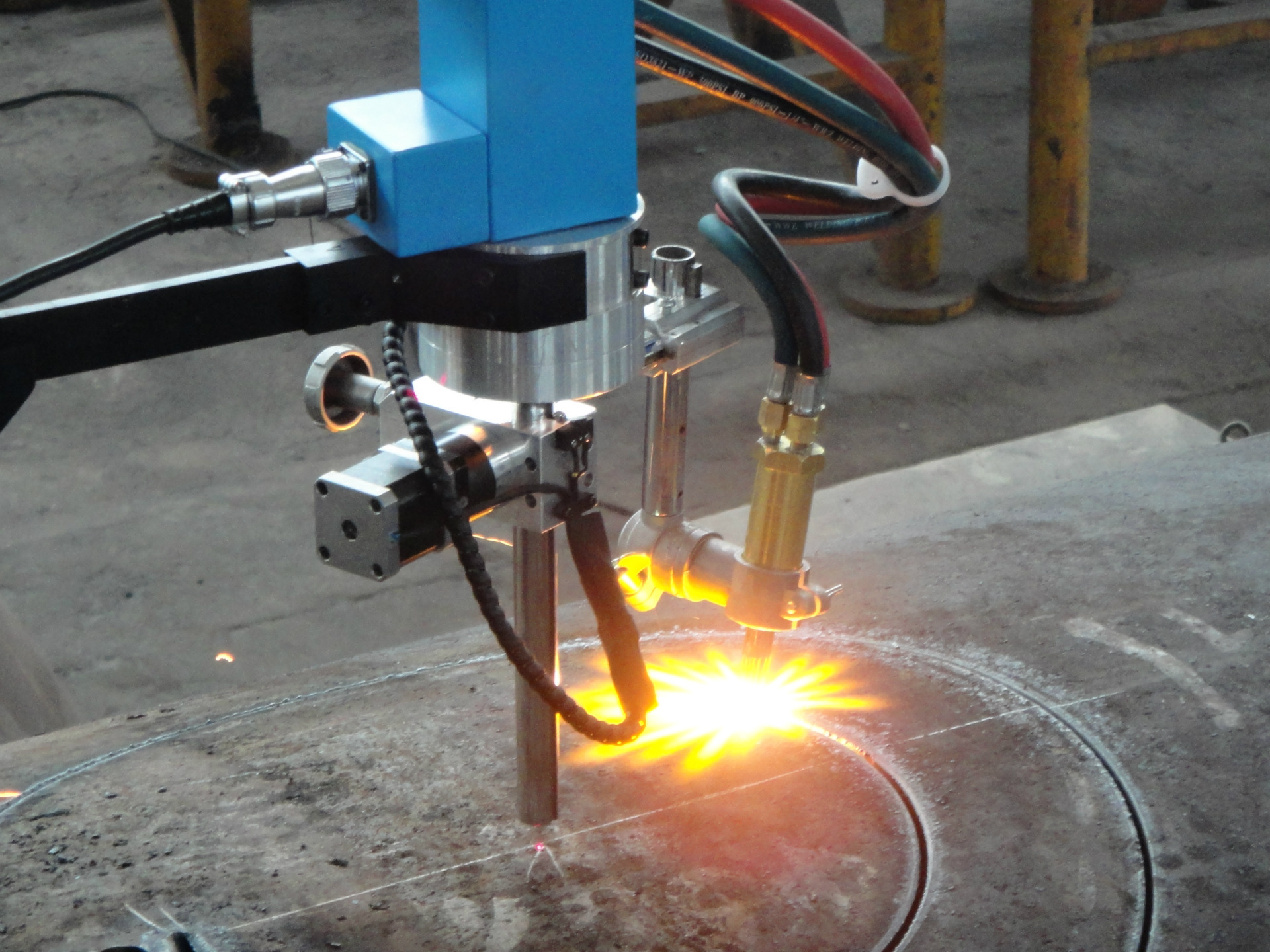 plasma flame cutting for spare parts