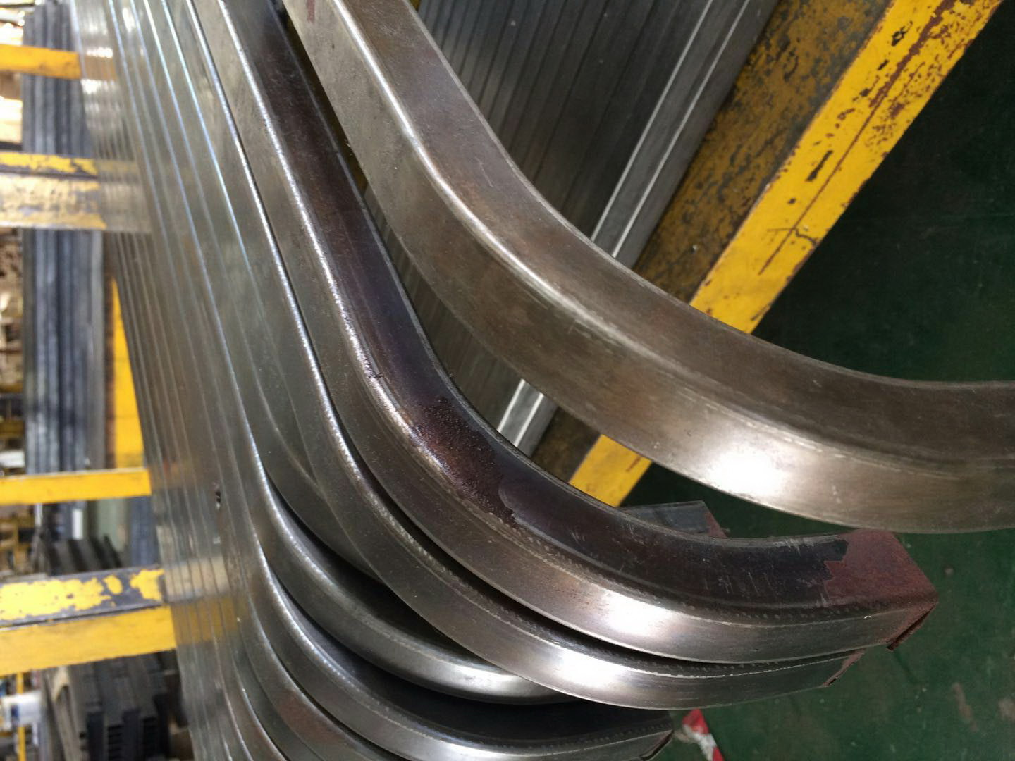 Steel pipe processing