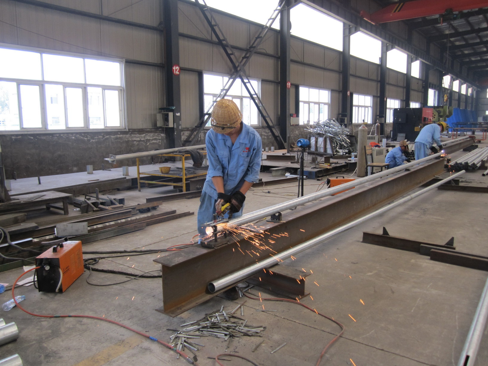 Steel structure manufacturing